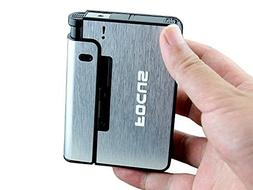 Piioket Automatic Ejection Cigarette Dispenser Case Box with
