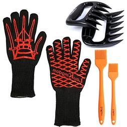 BBQ Cooking Tool Set Grilling Accessories Includes Silicone