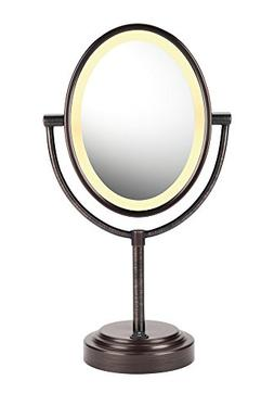 CONAIR BE47BR LIGHTED 2-SIDED MIRROR  CONAIR BE47BR LIGHTED