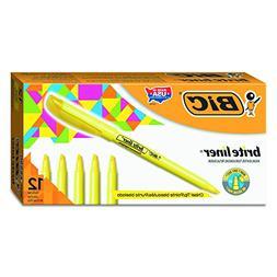 BICamp;reg; Brite Liner Highlighter, Chisel Tip, Fluorescent