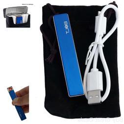 Bolt Lighter USB Rechargeable Windproof Coil Slim Cigarette