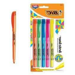 Brite Fluorescent Hi-lighters Assorted - 5 Ct