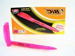 Brite Liner Highlighter, Chisel Tip, Fluorescent Pink Ink, 1