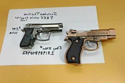 Bronze Beretta M92G CQB Shaped Novelty Pistol Gun Jet Torch