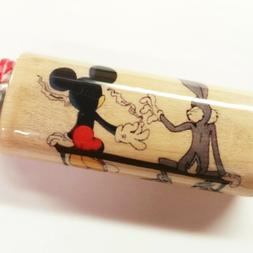 Bugs Bunny Mickey Mouse Joint Pass Lighter Case Holder Sleev