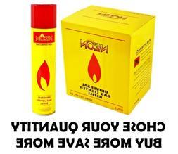 NEON Butane Gas Lighter Refill Fuel Universal Adapter Refine