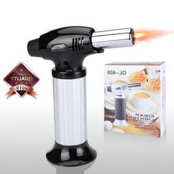 Butane Torch Lighter Thrust Jet Gun Lighter Welding Adjustab
