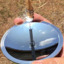 Camping Hiking Solar Spark Lighter Fire Starter Outdoor Emer