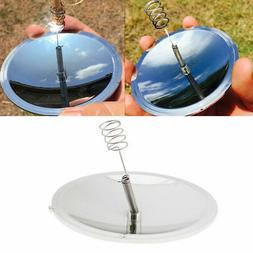 Camping Outdoor Solar Igniter Fire Lighter Starter Signal To