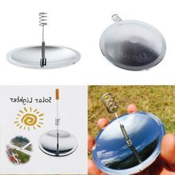 Camping Solar Spark Lighter Fire Starter Solar Cigarette Lig