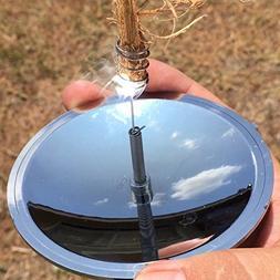 Easyinsmile Camping Solar Spark Lighter Fire Starter Solar C