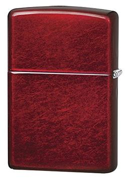 Zippo 21063 Candy Apple Red Pocket Lighter