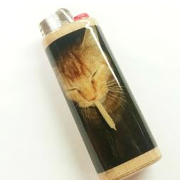 Cat Joint Smoking Weed Lighter Case Holder Sleeve Cover Fits