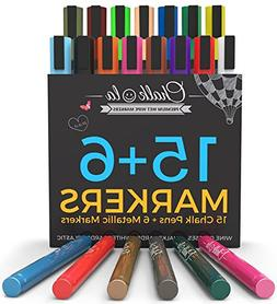 Chalk Markers Pens 10 Pack Neon Color Chalkboard Whiteboard