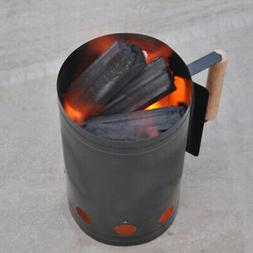 Charcoal Grill Rapidfire Lighter Ignition Chimney Camping Ba