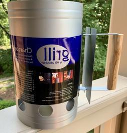 Chimney Grill Charcoal Starter Lighting Tool, Eliminates Lig