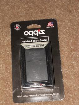 Zippo Classic 218 Black Matte Unisex Lighter New In Package
