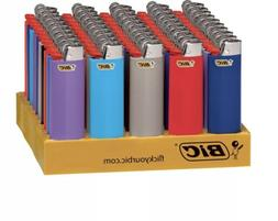 BIC Classic Full Size Lighter, Assorted Colors, 50-Count Tra
