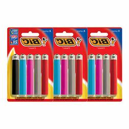 BIC Classic Lighter, Assorted Colors, 3 Packs of 5