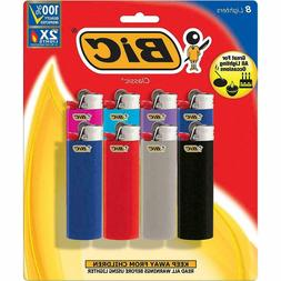 BIC Classic Lighter Assorted Colors 8 Pack Colors May Vary
