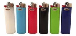 Classic Bic Lighter Choice of Pack Count, Mixed Color Count