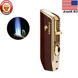 COHIBA Metal Classic Red 3 Torch JET Flame Cigar Cigarette L