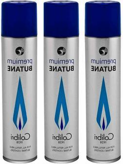 Colibri 90ml Premium Butane Fuel Gas Refill 3 - Pack Free Sh