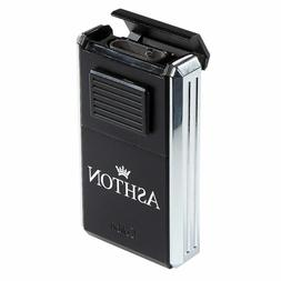 COLIBRI Ashton Astoria Triple Torch Cigar Lighter & Cutter -