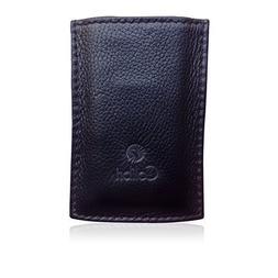 Colibri Black Leather Lighter / Cigar Cutter Holster Case Ho