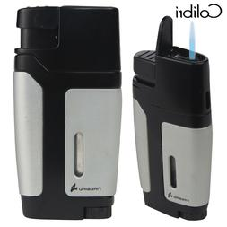 Colibri Firebird Volt Torch Lighter- Silver/Black