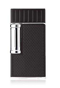 Colibri Julius Classic Flint Double Flame Lighter Black + Go