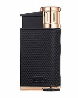 Colibri LI520C5 Evo Single Jet Flame Cigar Lighter Black Ros
