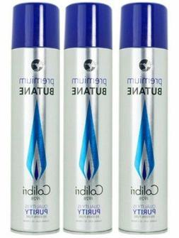Colibri Premium Lighter Butane 3 Pack Refill Fuel 90m/3.04 o