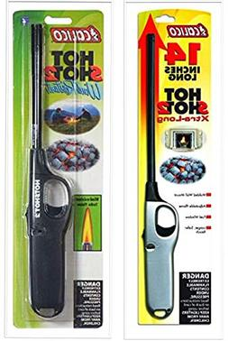 calico 2 Pack Combo Hot Shot 2 Xtra Long and Standard Wind R