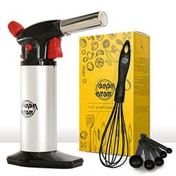 Cooking Torch Set For Creme Brulee By Pepe Nero: Culinary To