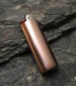 Handmade Copper Lighter Cover Case Sleeve Holder Plain Solid