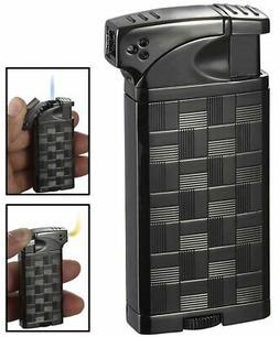Visol Coppia All-in-One Gunmetal Cigar, Cigarette and Pipe L