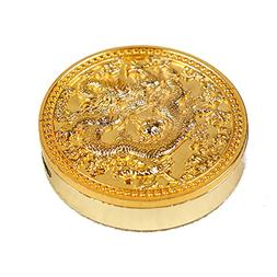 Creative Design Chinese Dragon Windproof Metal Coin Lighter