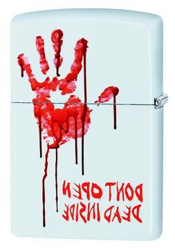 Zippo Custom Lighter Bloody Dead Zombie Hand Dont Open Dead