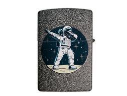 Zippo Custom Lighter Galactic Dabbing Space Astronaut Design
