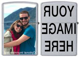 Customize this Zippo Lighter with YOUR IMAGE or Company Logo