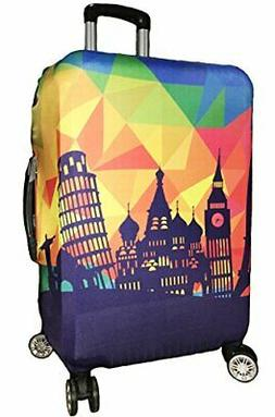 Myosotis510 Cute 3D Luggage Protector Suitcase Cover 18-32 I