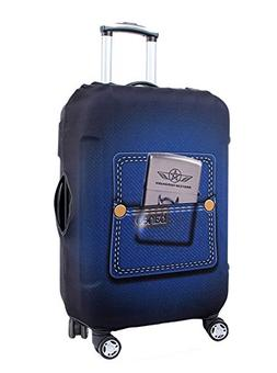 cute 3d luggage protector suitcase cover 18