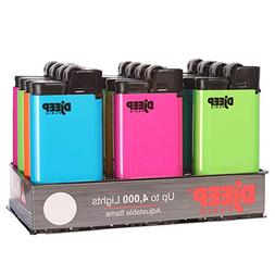 LOT of 5 Djeep Hot Body Neon Series Lighters Full Set