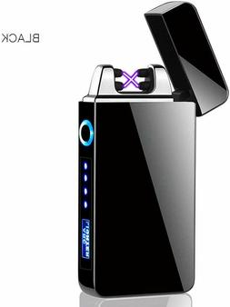 Dual Arc Electric USB Lighter Rechargeable Plasma Windproof