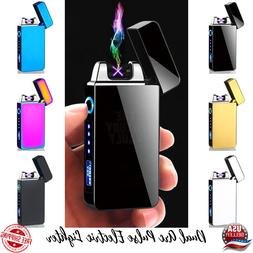 Dual Arc Pulse Electric Lighter USB Rechargeable Plasma Flam