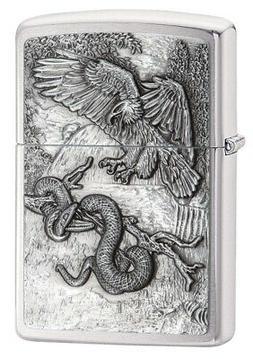 Zippo Eagle Vs. Snake Pocket Lighter