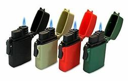 Eagle Easy Release Flip Top Lighter - Pack of 4 Single Flame