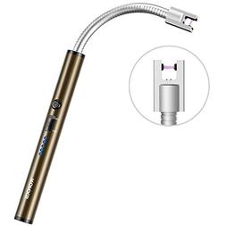 RONXS Electric Arc Lighter, Upgraded Long Lighter USB Rechar