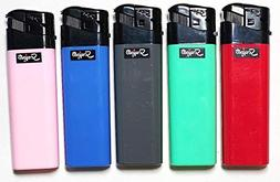 Scripto Electronic Lighters Full Size 5 Count